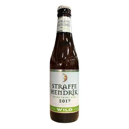 Cerveja Straffe Hendrik Wild 2017 Garrafa 330ml