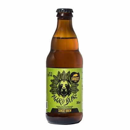 Cerveja Sunset Aggro Bear IPA Garrafa 300ml