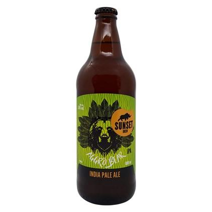 Cerveja Sunset Aggro Bear IPA Garrafa 600ml