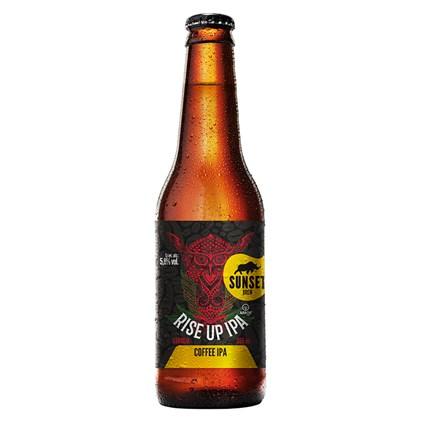 Cerveja Sunset Rise UP IPA Garrafa 335ml