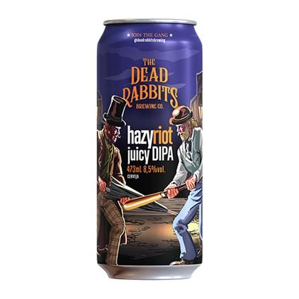 Cerveja The Dead Rabbits Hazy Riot Lata 473ml