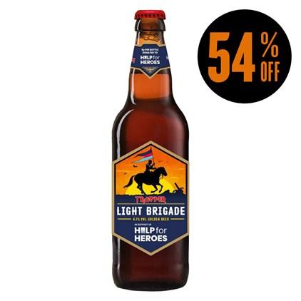 Cerveja Trooper Iron Maiden - Light Brigade Garrafa 500ml