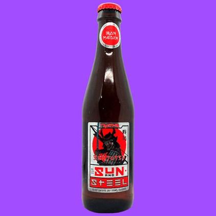 Cerveja Trooper Iron Maiden - Sun And Steel Sake Lager Garrafa 330ml