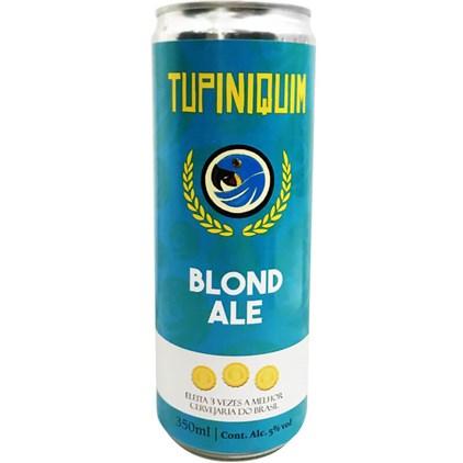 Cerveja Tupiniquim Blond Ale Lata 350ml