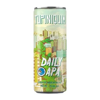 Cerveja Tupiniquim Daily APA Lata 350ml