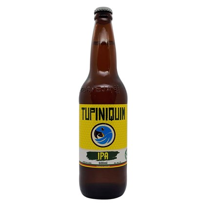 Cerveja Tupiniquim IPA Garrafa 600ml
