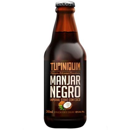 Cerveja Tupiniquim Manjar Negro Garrafa 310ml