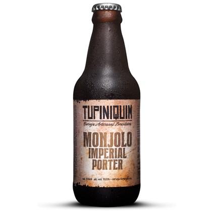 Cerveja Tupiniquim Monjolo Imperial Porter Garrafa 310ml
