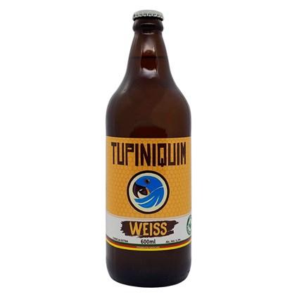 Cerveja Tupiniquim Weiss Garrafa 600ml