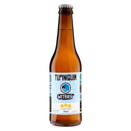 Cerveja Tupiniquim Witbier Garrafa 350ml