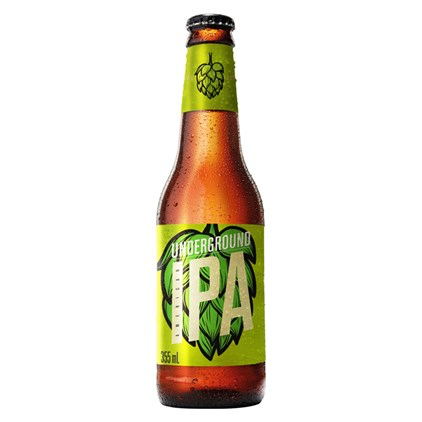 Cerveja Underground American IPA Garrafa 355ml