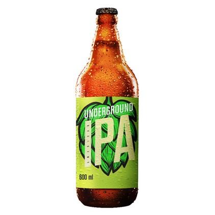 Cerveja Underground American IPA Garrafa 600ml