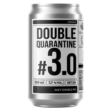 Cerveja Ux Brew Double Quarantine #3.0 Lata 350ml