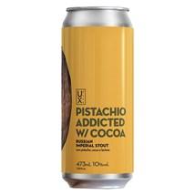 Cerveja UX Brew Pistachio Addicted Cocoa Russian Imperial Stout Lata 473ml