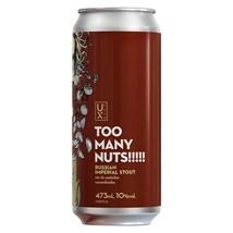 Cerveja Ux Brew Too Many Nuts!!!!! Lata 473ml
