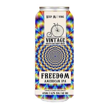 Cerveja Vintage Freedom American IPA Lata 473ml