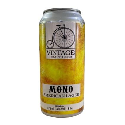Cerveja Vintage Mono American Lager Lata 473ml