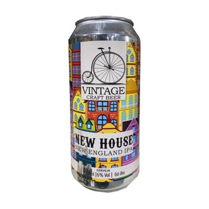 Cerveja Vintage New House New England IPA Lata 473ml