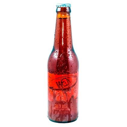Cerveja Way Beer Red Ale Garrafa 355ml