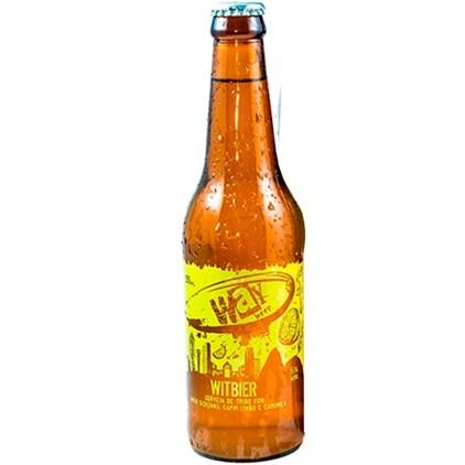 Cerveja Way Beer Witbier Garrafa 355ml