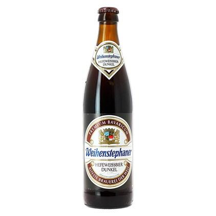Cerveja Weihenstephaner Dunkel Weiss Garrafa 500ml