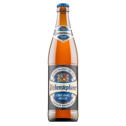 Cerveja Weihenstephaner Original Helles Garrafa 500ml