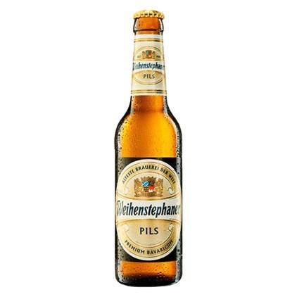 Cerveja Weihenstephaner Pils Garrafa 330ml
