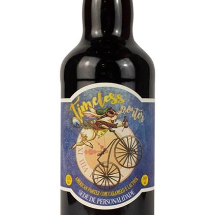 Cerveja Wonderland Timeless Porter Garrafa 500ml