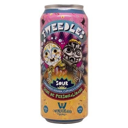 Cerveja Wonderland Tweedles Sour Lata 473ml