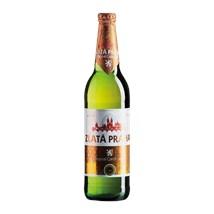 Cerveja Zlatá Praha Garrafa 500ml