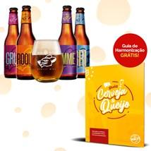 Clube de Cervejas Beer Pack 4 com 1 Copo (Assinatura)
