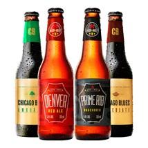 Clube de Cervejas Beer Pack 4 com 1 Copo (Assinatura Bradesco)