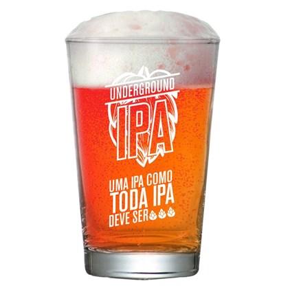 Copo de Cerveja Caldereta Underground - Como Toda IPA Deve Ser 350ml