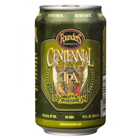 Founders Centennial IPA lata