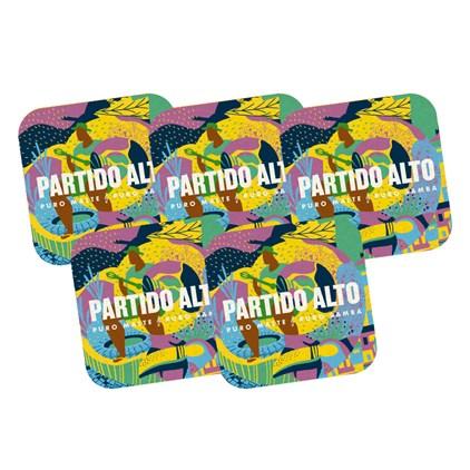 Kit 5 Bolachas Partido Alto