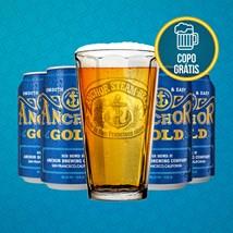 Kit Anchor Gold Ale - Compre 4 Cervejas Premium e Leve Copo Grátis!