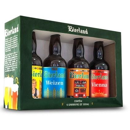 Kit Bierland - 4 Garrafas