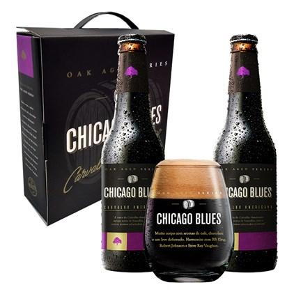 Kit Chicago Blues - Cervejas e Copo