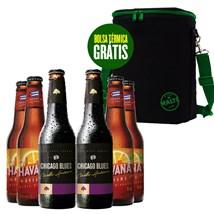 Kit Clube do Malte - Compre 6 Cervejas e Ganhe Bolsa Térmica Exclusiva