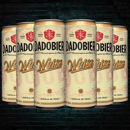 Kit Dado Bier Weiss - Compre 4 Cervejas e Leve 6