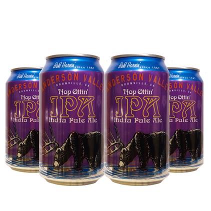 Kit de Cerveja Anderson Valley Hop Ottin IPA - Compre 3 Leve 4 Cervejas