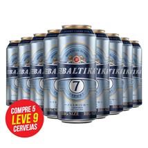 Kit de Cerveja Baltika 7 Lata 900ml - Compre 5 Leve 9 Cervejas