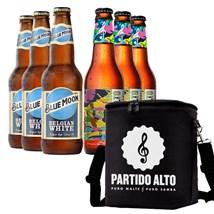 Kit de Cerveja Blue Moon + Partido Alto Com Bolsa Térmica