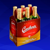Kit de Cerveja Czechvar 330ml - 6 Unidades