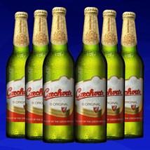 Kit de Cerveja Czechvar 500ml - 6 Unidades