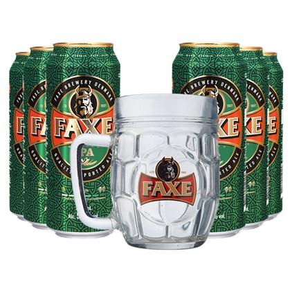 Kit de Cerveja Faxe IPA - Compre 6 e Leve Caneca Exclusiva da Marca