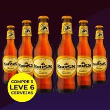 Kit de Cerveja Kross Golden - Compre 3 Leve 6