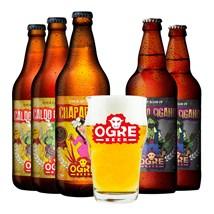 Kit de Cerveja Ogre Beer - Compre 5 e Leve Copo Exclusivo