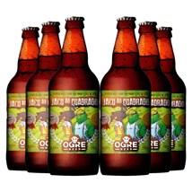 Kit de Cerveja Ogre Beer Jacu ao Quadrado - Compre 5 e  Leve 6