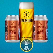 Kit de Cerveja Tarantino Rauchbier - Compre e ganhe o copo